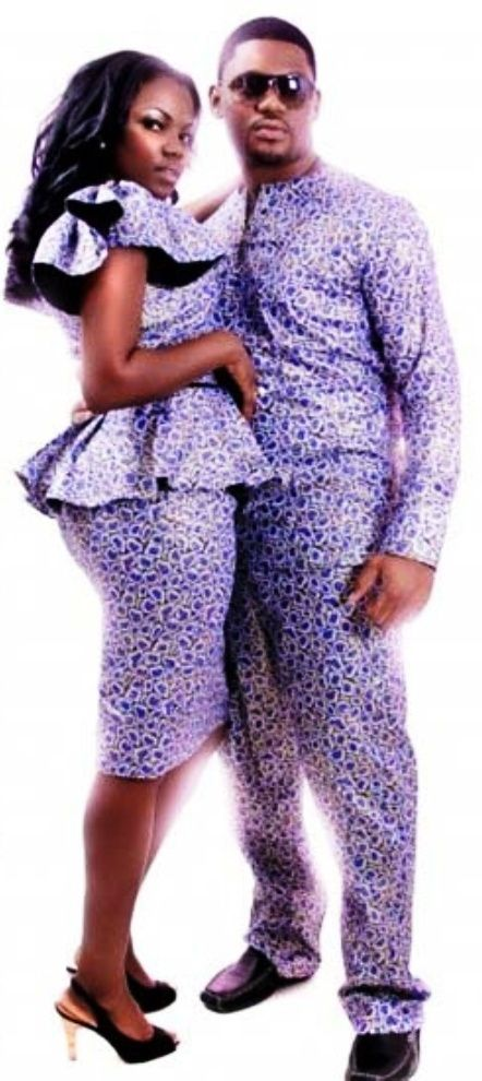 African clothing, beautiful couple | African Fashion and ...