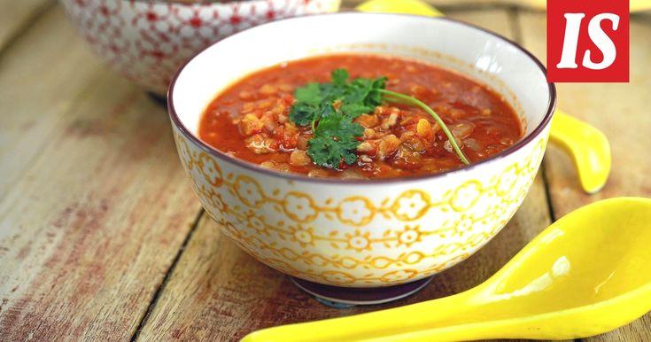 Maukas ja ruokaisa keitto valmistuu alle puolessa tunnissa.