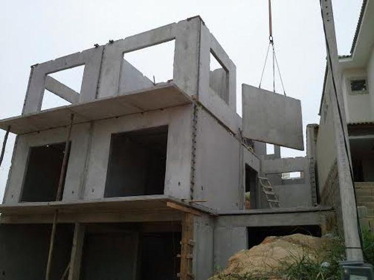 Casas pré-moldadas concreto R$450,00 metro quadrado
