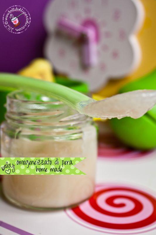 Omogeneizzato di pera per lo svezzamento: la ricetta per prepararlo facilmente in casa