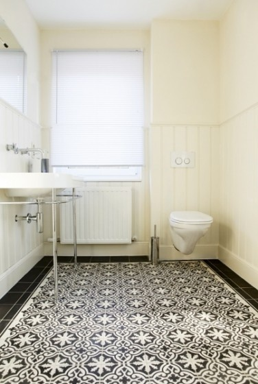 Obsessed with Portugese tile. Dream home! In stock Bordeaux Pattern. http://www.cementtileshop.com/in-stock-encaustic-cement-tile/Bordeaux.html