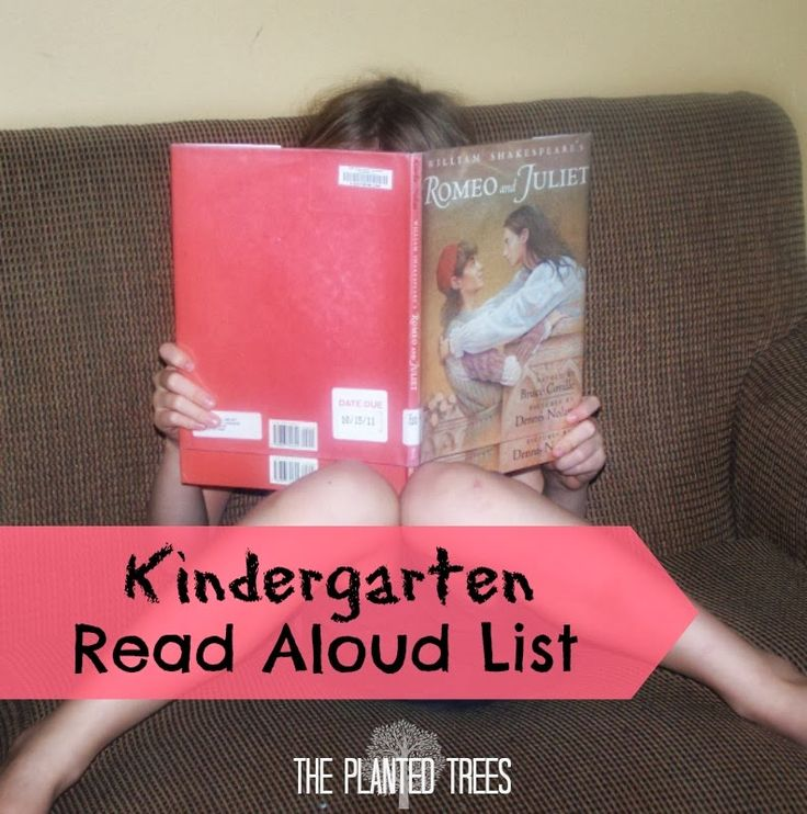 The Planted Trees: Mama Monday: Kindergarten Read Aloud List