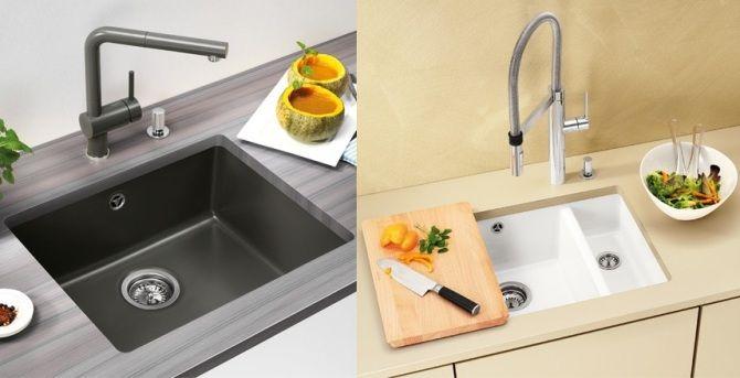 Кухонные мойки Blanco из нержавеющей стали категорий High End и Exclusive. Модели из керамики