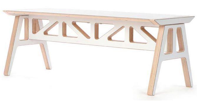 2Modern Context Furniture Truss A-Frame Bench   $450