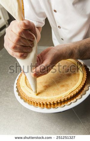 Pastry chef - stock photo