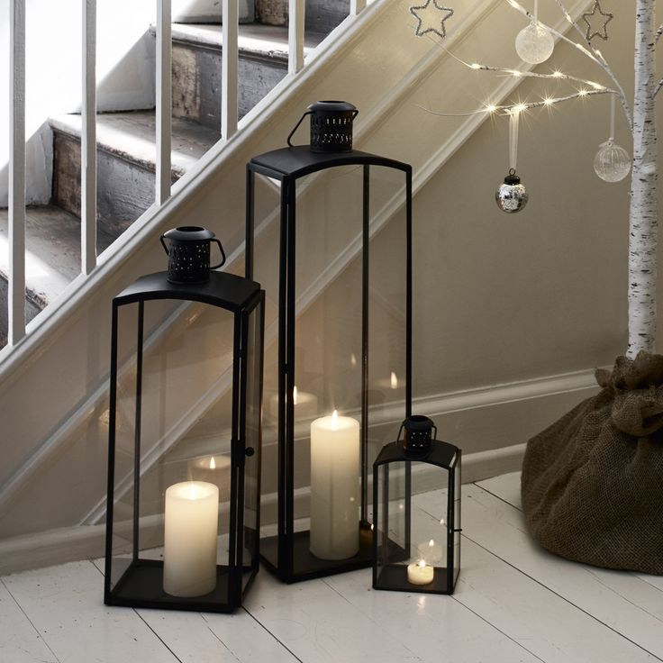 Ultimate Chimney Lantern   Candle Holders   Home Accessories   Home   The White Company UK