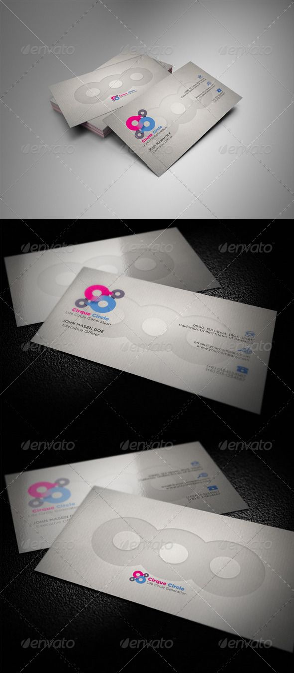 88 best print templates images on pinterest fonts best practice cirque circle business card magicingreecefo Choice Image
