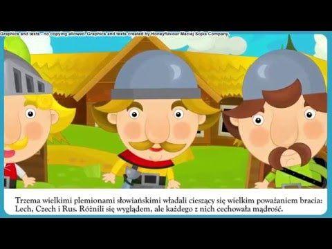 Legenda - Lech Czech Rus - bajka dla dzieci - Czytanka PL