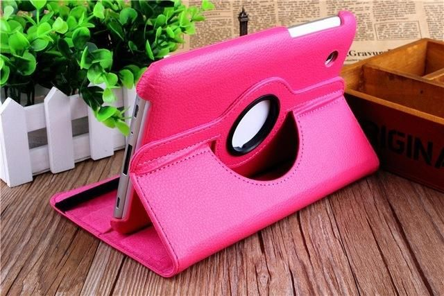 360 Degree Rotating PU Leather Cover For Samsung Galaxy Tab 2 7.0 P3100 Tablet Case for Samsung Galaxy Tab2 7.0 P3100 P3110 Case