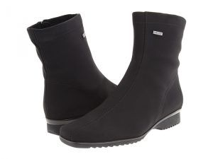 ara Page (Black Fabric) Women's Waterproof Boots