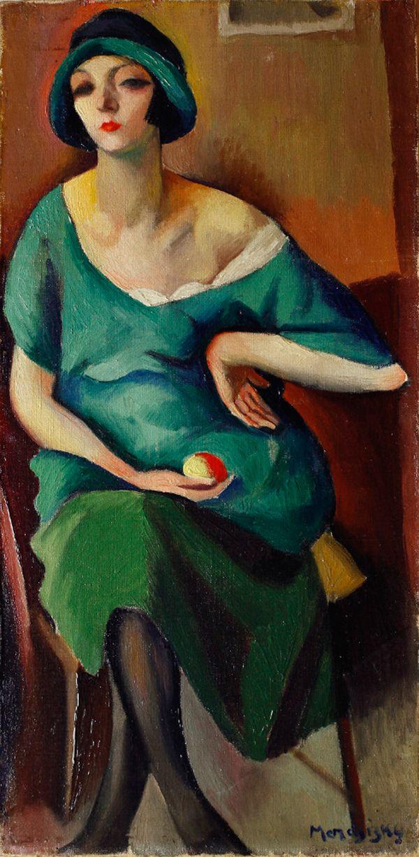 Maurycy Mędrzycki Kiki, 1921, Kiki de Montparnasse – cesarzowa paryskiej bohemy