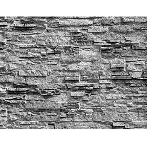 Fototapeten Steinwand 3d Effekt Grau 352 X 250 Cm Vlies Wand Tapete