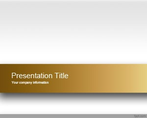 Gold Engage PowerPoint Template is a free clean PowerPoint template background that you can download