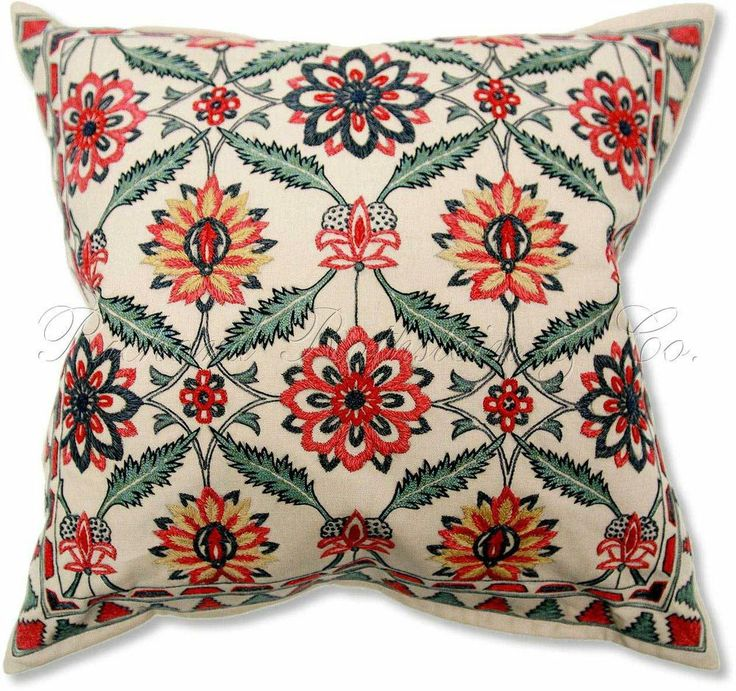 William Morris Stickley Style Throw Pillow