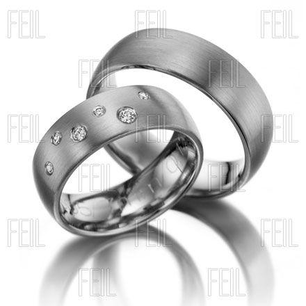 Fehér arany karikagyűrű WFAu-263