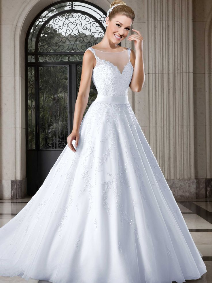 Vestidos de noiva - Coleção Callas (14) Frente