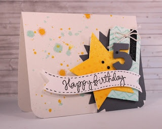 Sprinkled With Glitter: Happy Birthday Card - Layered Die Cuts