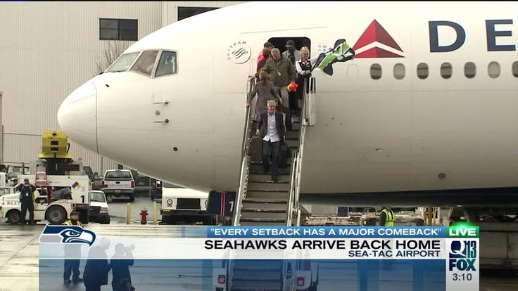 LIVE UPDATES: Seahawks return home to Seattle after Super Bowl loss