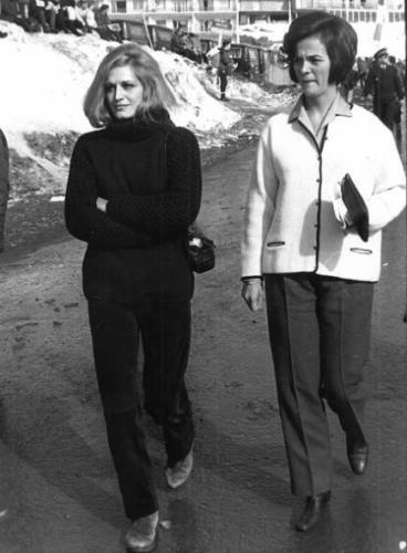 En 1968, à l'occasion des Jeux Olympiques de Grenoble, Dalida est présente dans la station de Chamrousse.