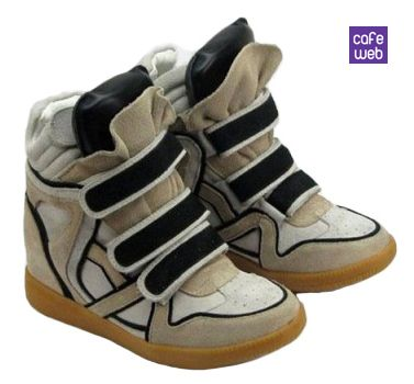 Scarpe da ginnastica con zeppa Wedge Sneakers: must have inverno 2013