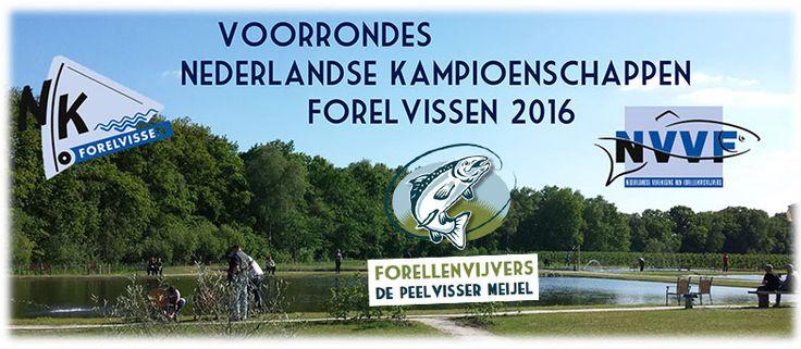 Peelvisser Meijel voorrondes NK Forelvissen; De Peelvisser Meijel doet voor het eerst mee aan de voorrondes voor het NK Forelvissen en daar kunnen jullie allemaal aan deelnemen. Iedereen die een kans wil wagen om zich te kwalificeren voor het NK Forelvissen 2016 in het team van 'De Peelvisser Meijel' kan zich opgeven voor de voorrondes van het NK!