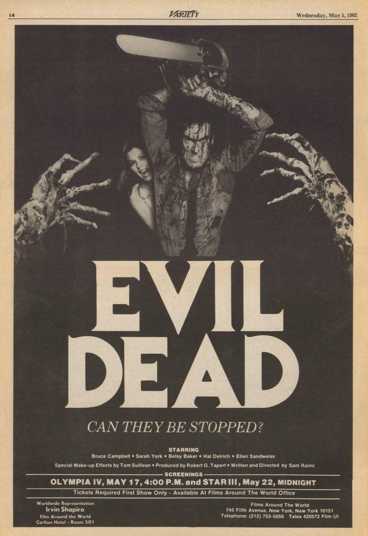 """Sam Raimi's """"The Evil Dead"""" (1981)"""
