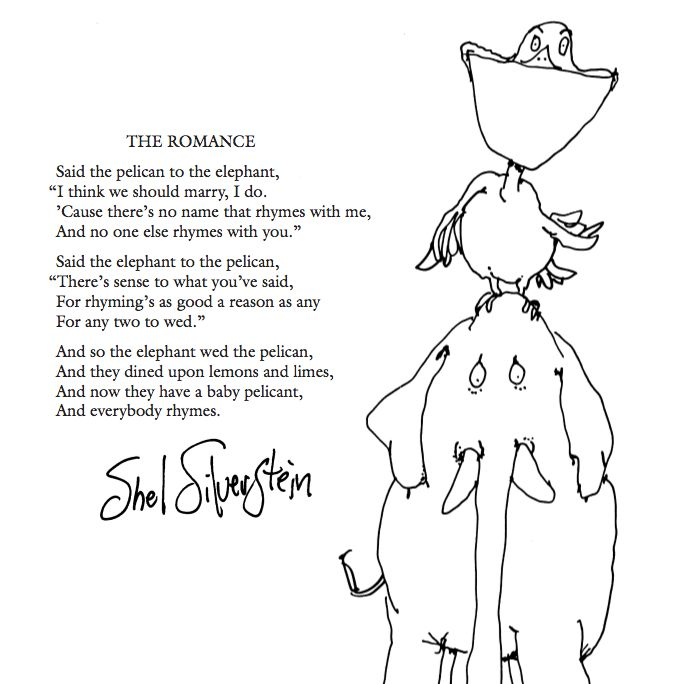 Shel Silverstein Invitation was adorable invitation example