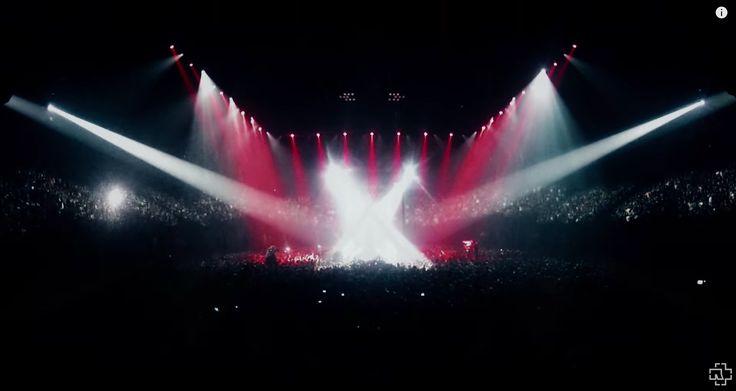 Rammstein Paris lightshow
