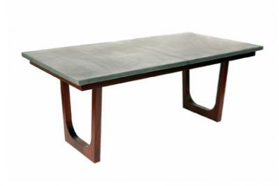 Concrete Top Dining Table   Wud Furniture Design