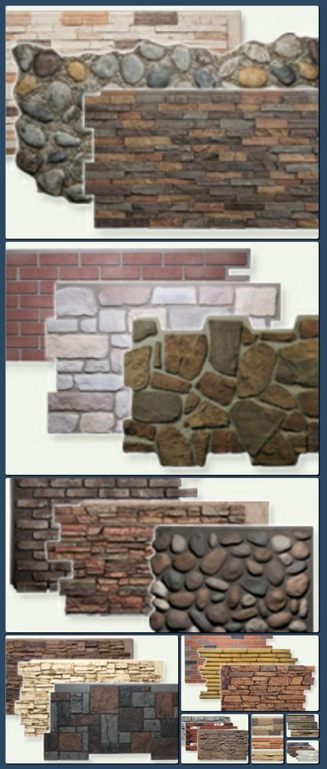 Faux Stone Panels, Faux Brick, Faux Wood | Natural Look for Less    http://hoog.li/g?g=http%3A%2F%2Fwww.fauxpanels.com%2F