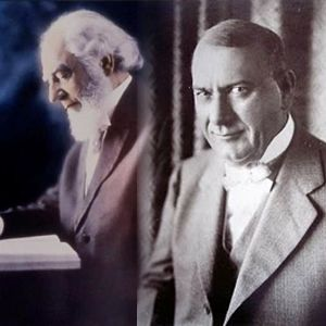 Charles Taze Russell and Joseph Franklin Rutherford