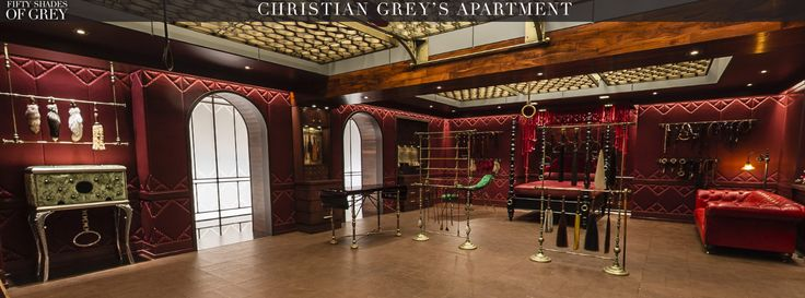 Fifty Shades Of Grey Red Room