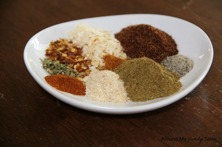 Homemade Taco Seasoning (only takes 5 minutes and without all the MSG and preservatives)
