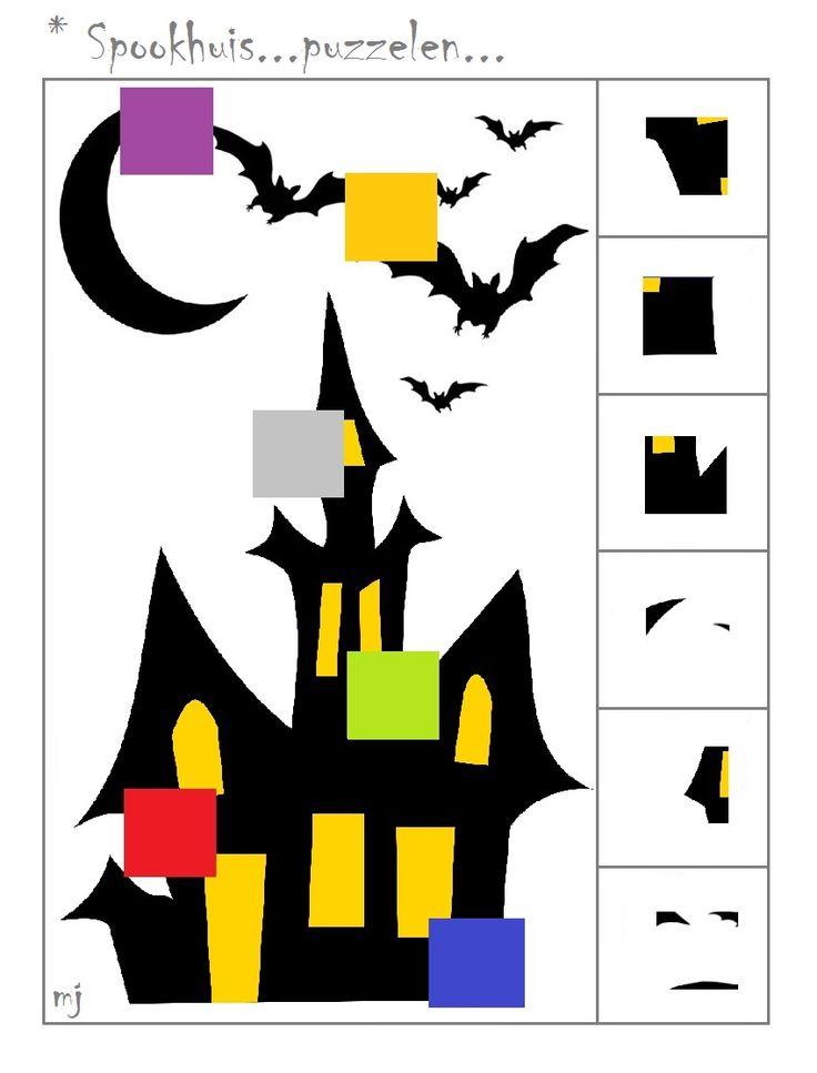 * Spookhuis...puzzelen...1-2