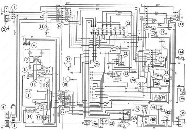 Ford Transit Central Locking Wiring Diagram