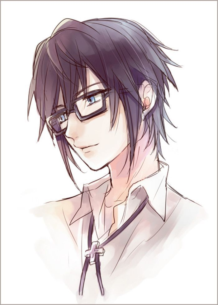 Anime Characters With Glasses : Best anime boy hair ideas on pinterest