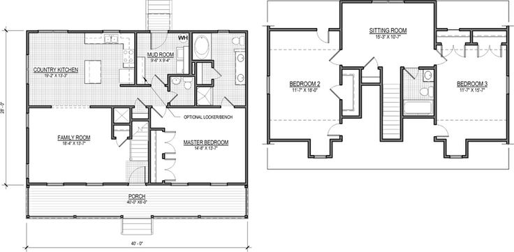 10 best images about cape cod floorplans on pinterest for Cape cod house plans with first floor master bedroom