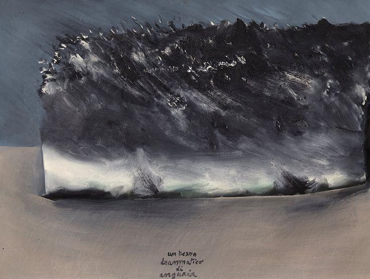 """Mattia Moreni """"Un pezzo drammatico di anguria"""" 1970"""