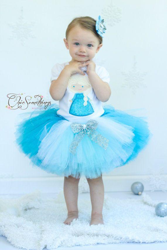 Elsa tutu, frozen tutu, winter onederland tutu, frozen birthday tutu, Photo Prop Tutu, Childrens Toddler, elsa halloween costume, Elsa tutu