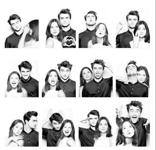 #HP #Cast actors | Harry Potter and Ginny Weasley | Harry and Ginny | Hinny | Bonnie Wright and Daniel Radcliffe
