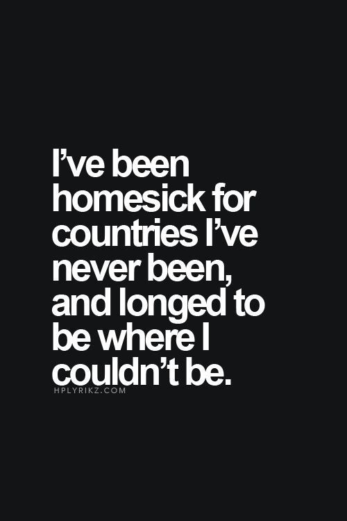 My wanderlust is strong! My heart wants to be anywhere but here in PA.