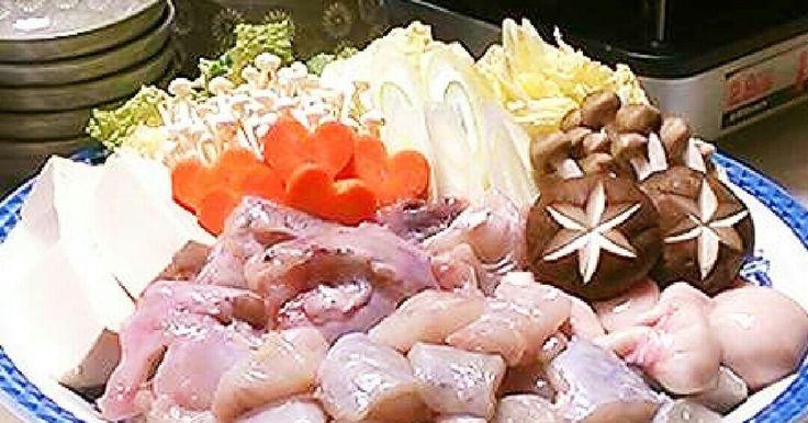 クックパッドニュース掲載感謝☆ てっちりはコラーゲンたっぷりの美肌鍋♡簡単絶品〆は定番の雑炊に。参考になさって下さい^^