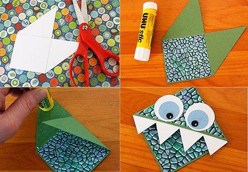 Manualidad sencilla para hacer marcapáginas con niños | Fiestas infantiles y cumpleaños de niños