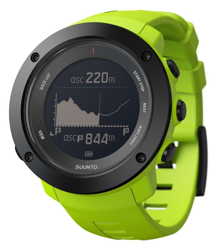 Suunto Ambit3 Vertical (HR) Multisport GPS Watches with Heart Rate Monitor (Lime). Multisport GPS Watch with Heart Rate Monitoring; Advanced Training and Recovery Functions. Running, Cycling and Swimming Features; GPS Tracking and Navigation; Activity Based Recovery Time. Keeps Track of your Total Vertical Gains; Movescount Training Programs on the Watch. Route Planner with Topographic Map and Altitude Profile and Total Acent Visualization; Compass. Multiple Sports in One Log; Real-Time…