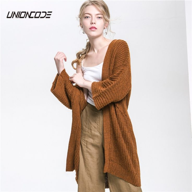 Wool Blend Channel Cardigan Women 2017 Autumn Rib-knit Knitwear Woman Low Dropped Shoulders Three Quarter Sleeve Long Sweater. Yesterday's price: US $56.29 (46.69 EUR). Today's price: US $38.84 (32.21 EUR). Discount: 31%.