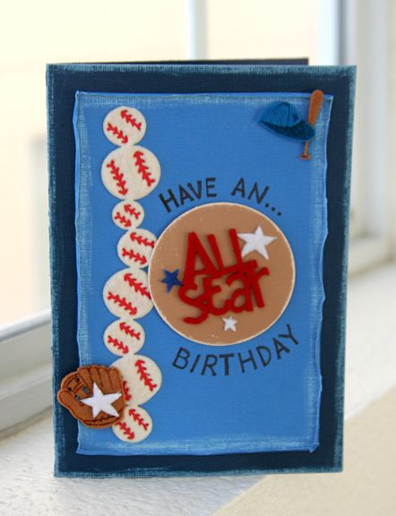 Birthday card for the baseball lover. This would also be great boy birthday card, birthday invitation and more.
