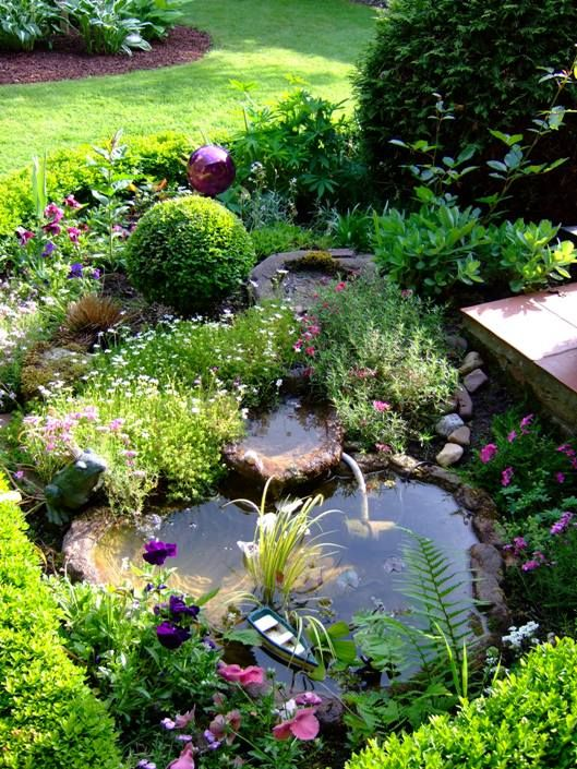 3735 best images about gardens to remember on pinterest for Goldfisch miniteich