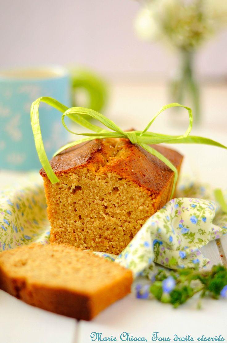 Cake au citron #IGBas à la farine d'épeautre, purée d'amandes, sirop d'agave,...