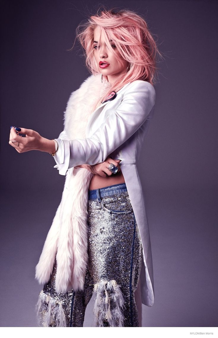 Rita Ora Gets Candy Pink Hair for NYLON Cover Shoot