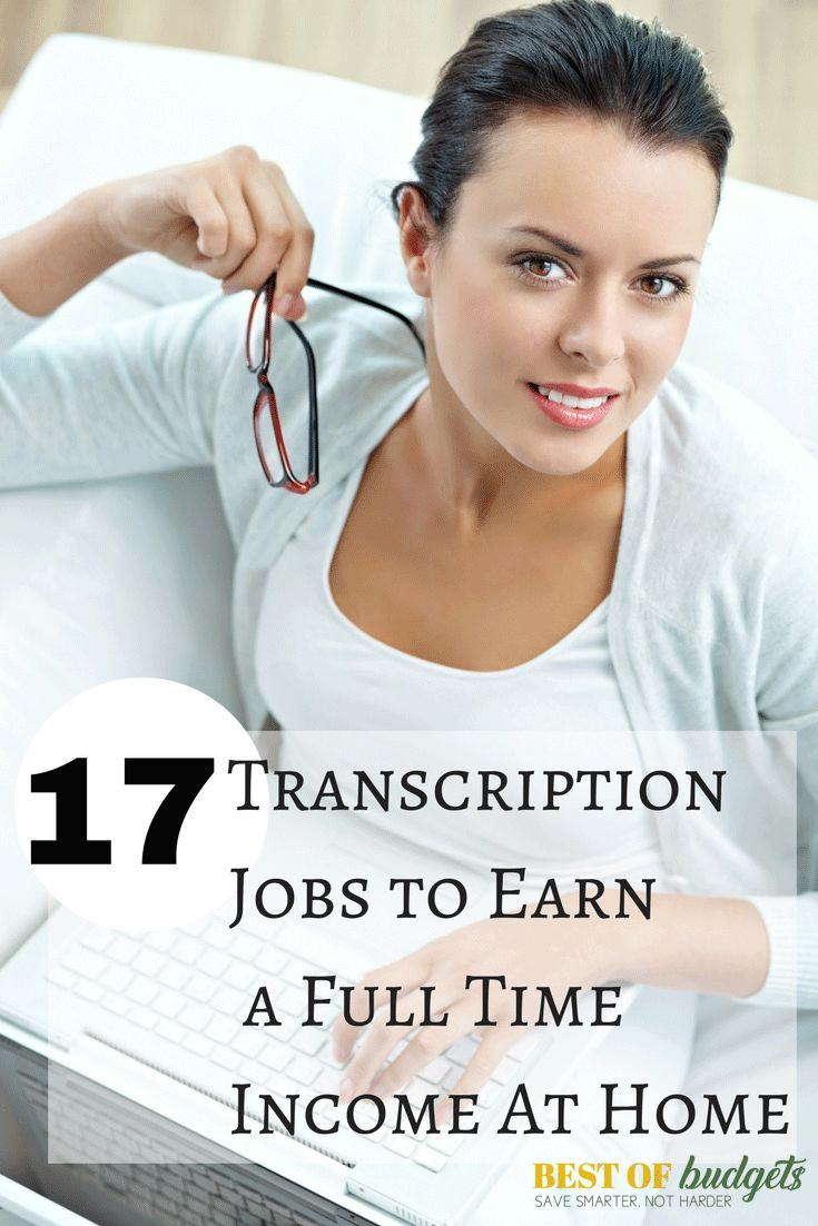 Best Transcription Jobs At Home